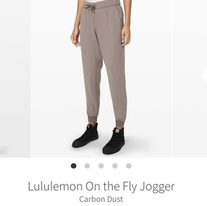lululemon athletica Pants - Lulu On the Fly Jogger in Dark Olive